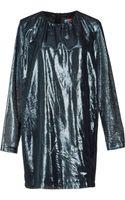 MSGM Short Dresses - Lyst