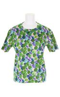 Marc Jacobs Floral Sweater Top - Lyst