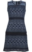 Anna Sui Embroidered Eyelet Dress - Lyst
