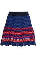 M Missoni Fine Knit Aline Skirt - Lyst