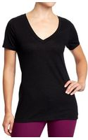 Old Navy Vintage style V-neck Tees - Lyst