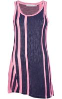 See By Chloé Long Striped Tank Top - Lyst