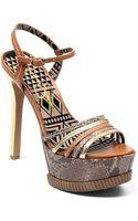 Jessica Simpson Skye Highheel Platform Sandals - Lyst