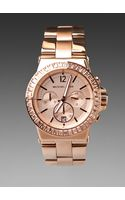Michael Kors Dylan Watch in Rose Gold - Lyst