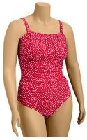 Old Navy Plus Ruched Bandeau Swimsuit - Lyst