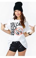 Nasty Gal You Cant Touch This Tee - Lyst
