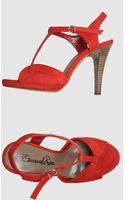 Emanuela Passeri Platform Sandals - Lyst