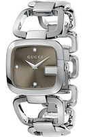 Gucci G 32mm Stainless Steel Bracelet with Diamonds Watch - Lyst