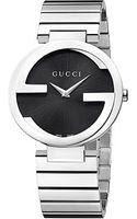 Gucci Interlocking 37mm Stainless Steel Watch - Lyst