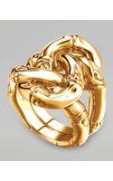 John Hardy Bamboo 18k Gold Knot Ring Size 7 - Lyst