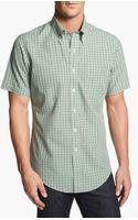 Brooks Brothers Slim Fit Short Sleeve Sport Shirt - Lyst