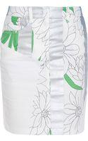 3.1 Phillip Lim Multi Print Canvas Skirt - Lyst