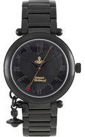 Vivienne Westwood Orb Black Watch - Lyst