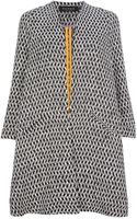Paper London Sandman Jacquard Coat - Lyst