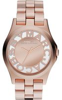 Marc By Marc Jacobs Henry Rose Goldtoned Stainless Steel Watch - Lyst