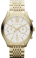 Michael Kors Stainless Steel Chronograph Watch - Lyst