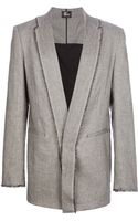 Lost and Found Robe Collar Jacket - Lyst