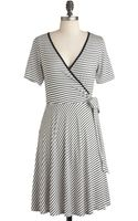 ModCloth Monochrome Town Pride Dress - Lyst
