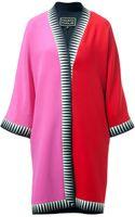 Fausto Puglisi Pinkred Kimono Coat - Lyst