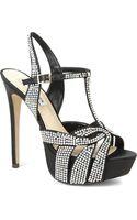 Steve Madden Ally Diamanté-embellished Satin Sandals - Lyst