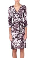 Diane Von Furstenberg Julian Wrap Dress - Lyst