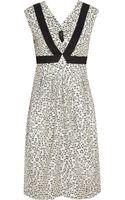 Zero + Maria Cornejo Soji Striped Jacquard Dress - Lyst