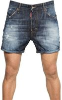 DSquared2 Big Deans Bro Cotton Picker Shorts - Lyst