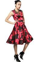 Lanvin Techno Wool Jacquard Dress - Lyst