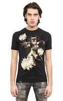 Philipp Plein Catwoman Printed Cotton Jersey - Lyst