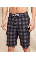 Tommy Hilfiger Exploded Check Boardshort - Lyst