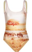 We Are Handsome Oasis Scoop One Piece - Lyst