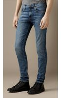 Burberry Shoreditch Vintage Skinny Fit Jeans - Lyst
