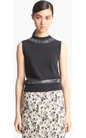 Marc Jacobs Sequin Embroidered Cashmere Shell - Lyst