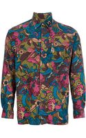 Kenzo Vintage Corduroy Floral Shirt - Lyst