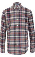 Polo Ralph Lauren Slim Fit Madras Shirt - Lyst