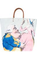 Anya Hindmarch Cartoon Print Shopper Tote - Lyst