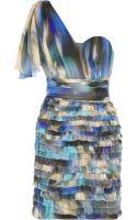 Matthew Williamson Printed Silk Chiffon Dress - Lyst