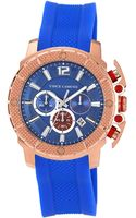 Vince Camuto Mens Rose Goldtone Chronograph Watch - Lyst