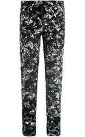 Erdem Esmeralda Rainforest Reflections Print Trousers - Lyst