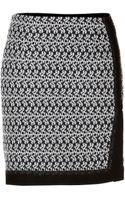 Missoni Woolcashmere Miniskirt - Lyst