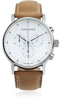 Georg Jensen Koppel Leather Watch - Lyst