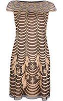 Temperley London Velvet Paneled Lace Dress - Lyst