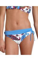 Tommy Bahama Last Stop Paisley Sidetie Hipster Swim Bottoms - Lyst