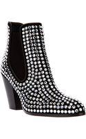 Giuseppe Zanotti Gem Embellished Chelsea Boot - Lyst