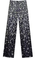 Mulberry Wide Leg Trousers - Lyst