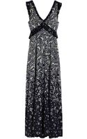 Mulberry Evening Dress - Lyst