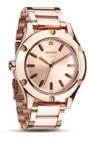 Nixon The Camden All Rose Gold Watch 42mm - Lyst