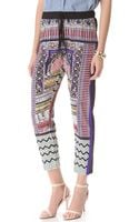 Clover Canyon City Palace Drawstring Pants - Lyst