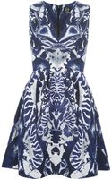 McQ by Alexander McQueen Kaleidoscope Beetle Print Dress - Lyst