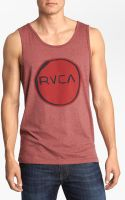 RVCA Melt Circle Tank Top - Lyst